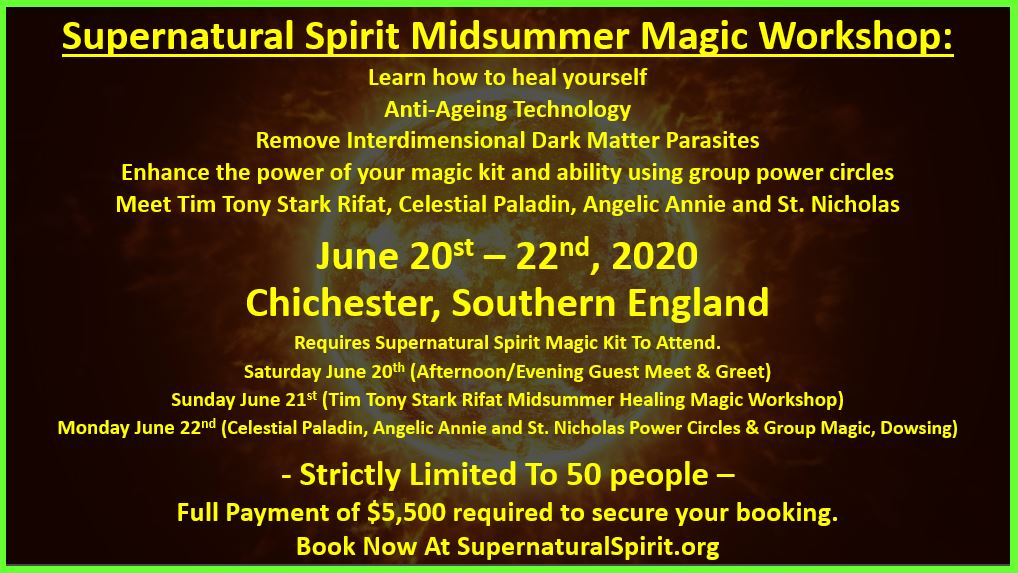 Supernatural Spirit Magic School Introduction